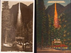Vintage Firefall Postcards