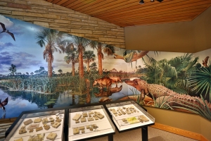 Visitor Center Museum Mural