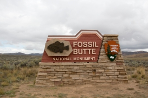Fossil Butte National Monument Entrance