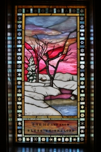 """""""Winter"""" Stained Glass"""