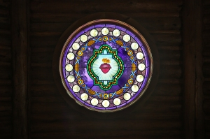 """Sacred Heart"" Stained Glass"