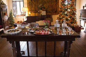 Christmas Treats Table