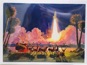Card 6 Shuttle Launch
