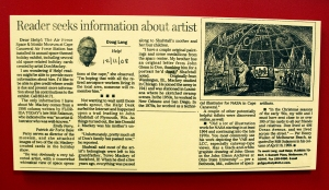 Don Mackey Newspaper Biography