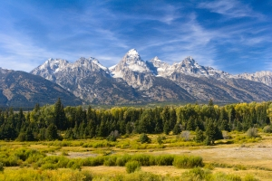 Spectacular Tetons in Fall