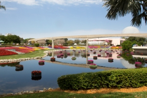 Epcot Flower Beds and Floating Gardens