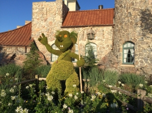 Norway Troll Topiary