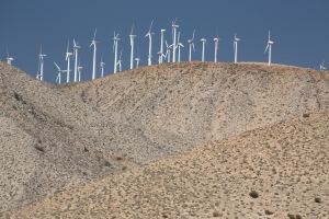 Wind Turbines on Ridge