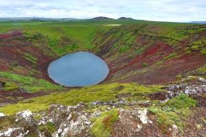 Kerid's Volcanic Caldera