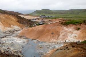 Seltun Volcanic Basin