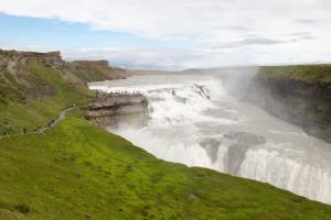 Gullfoss (Golden Falls) near Reykjavik