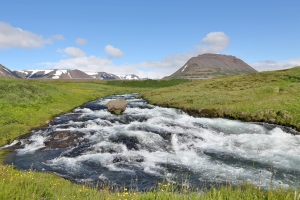 Unnamed Waterfall in North Iceland