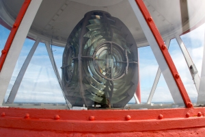 Fresnel Lens in Gardskagaviti Tower