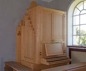Glaumbaejarkirkja (Glaumbaer Church) Wooden Pipe Organ