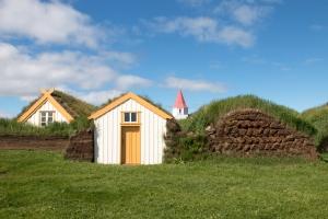 Glaumbaer Farm-Skagafjordur Folk Museum Complex, Skagafjordur, Northern Iceland
