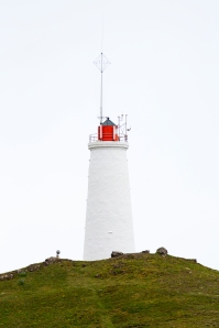 Close-up of Reykjanes Lighthouse