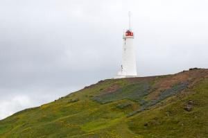 Reykjanes Lighthouse. Iceland's Oldest Lighthouse near Reykjavik.