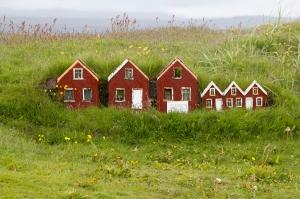 Strandarkirkja Foot-High Elf Houses