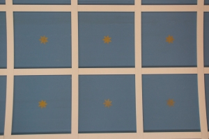 Strandarkirkja Star Patterned Ceiling