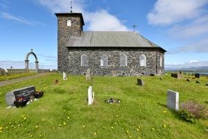 Thingeyrarkirkja (Stone Church), Northern Iceland
