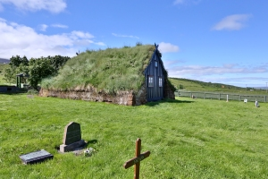 Vidimyrakirkja (Turf Church), Northern Iceland