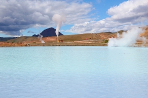 Bjarnaflag: Country's First Geothermal Power Station, Northern Iceland