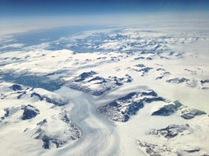 Departure:  Fly-Over Greenland's Glaciers