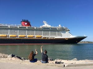 Disney Dream Cruise Ship Departure