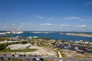 View of Port Canaveral from Top of Tower