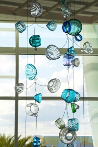 Recycled Glass Mobile