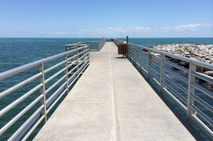 Jetty Park's Long Fishing Pier