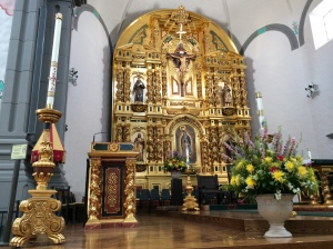 Altar at New Mission San Juan Capistrano