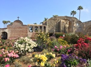 Flower Gardens by Great Stone Church Ruins