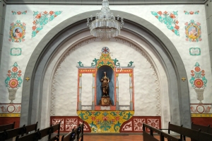 Murals at New Mission San Juan Capistrano