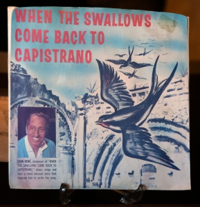 "Song Album Cover for ""When the Swallows Come Back to Capistrano"""
