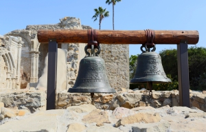 Two Largest Bells Preserved from Great Stone Church (San Vicente and San Juan –cast in 1796)