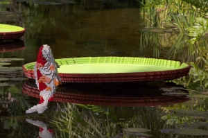 LEGO Koi and Waterlily