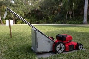 LEGO Life Size Lawn Mower