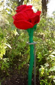 LEGO Almost 7 Foot Tall Rose