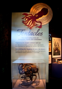 Tentacles Exhibit Sign