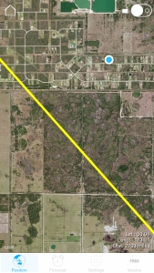 Space Station Track (Yellow Line) by Our House (Blue Dot)