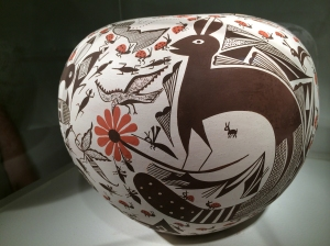 Acoma-Hopi Seed Jar