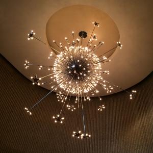 Sputnik-Style Starburst Chandelier