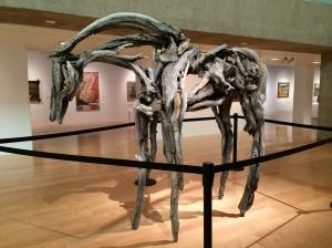 Driftwood Bronze Horse