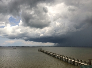 Stormy Sky over Indian River