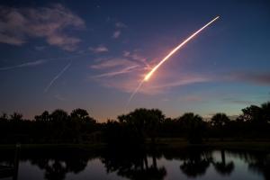 30 Second Exposure of Atlas Lift-off