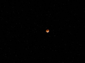 Reddish Hue of Moon During Eclipse