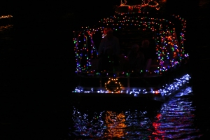 Boat Parade Lights with Wreath