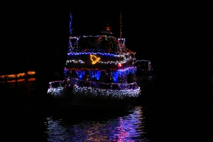 Boat Parade Lights with Bell