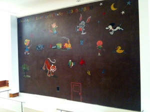 Charles Schulz Nursery Wall for Daughter in 1951